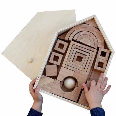 juegos artesanales de madera