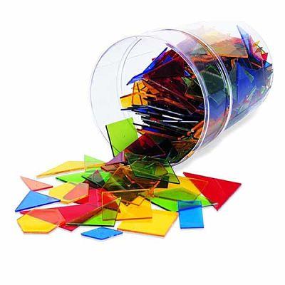 Juegos de plástico translúcido