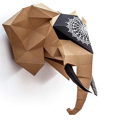 Juegos ecológicos de cartón